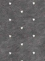 Grey Heart Pattern