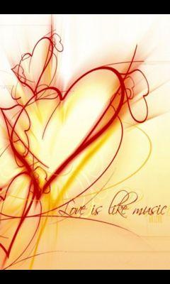 Love is like M...