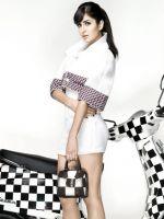 Katrina in white