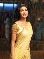 Priyanka in the rain