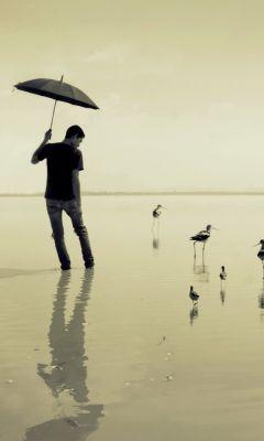 Guy-With-Umbrella