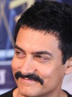 Aamir Khan with moustaches