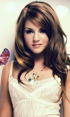 Cute Butterfly Girl