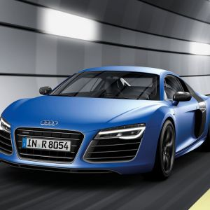 Audi S  Blue