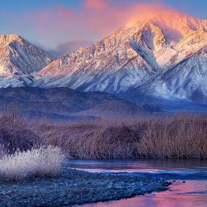 Galaxy S  Active Wallpapaper White Mountain