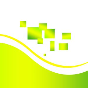 Chartreuse Squares And Waves Vector Mobile Wallpaper     X