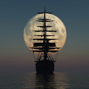Ship Keeps Sailing Via Eyesofodysseus