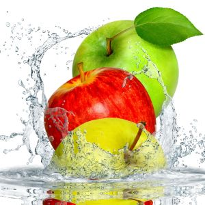 Apple Splash Desktop Background