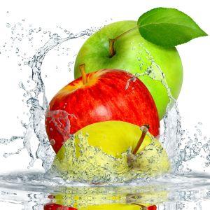 Apple Splash Desktop Background