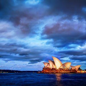Sydney Glows At Sunset Wallpaper