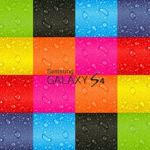 Galaxy S  Colour Wallpaper