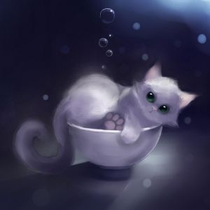 Cat in the cup