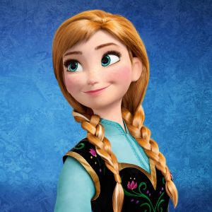 Anna Frozen Cartoon Mobile Wallpaper     X