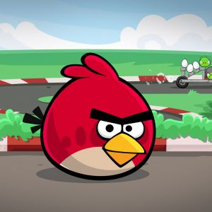 For Galaxy S  Angry Birds Space Wallpapers