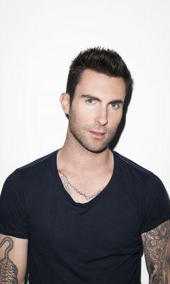 Adam Levine Maroon