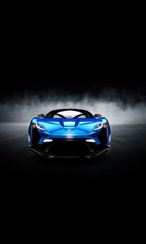 W Motors Supersport Car Mobile Wallpaper     X