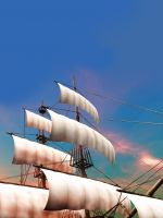 Pirate Ship Mobile Wallpaper Abstract Images Mobile Wallpaper