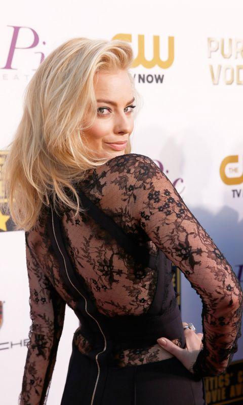 Margot Robbie Celebrity Mobile Wallpaper     X