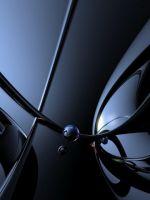 Abstract  Black  Grey Wallp