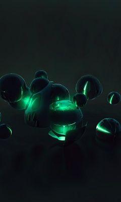 Balls  D Abstract    X