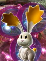 Rabbit Abstract   Dimensional Wallpapers  D Wallpapers Abstarct Wallpapers Digital Wallpapers    X