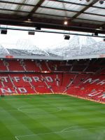 Soccer Stadium Manchester United     X