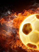 Burning Soccer Ball     X