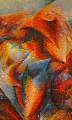 Dynamism Of A Soccer Player Umberto Boccioni     X
