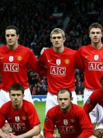 Manchester United Soccer Team     X
