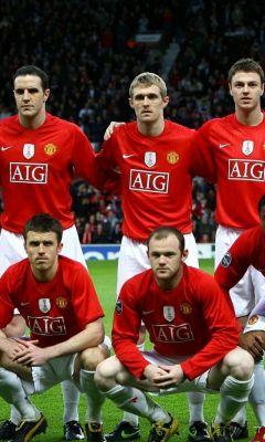 Manchester United Soccer Team     X