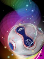 Colorful Soccer IPhone Wallpaper
