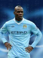 Mario Balotelli Manchester City Soccer       X