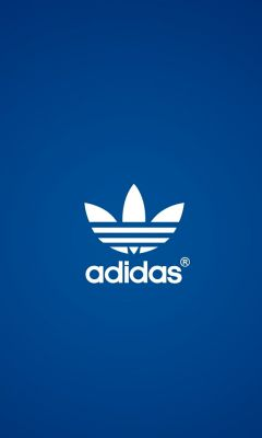 Adidas Blue  Wallpapers IPhone
