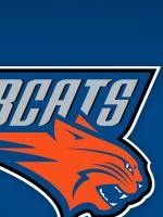 Charlotte Bobcats Logo On Blue