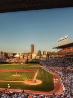 Baseball Mlb Stadium Chicago Cubs     X
