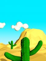 Cactus Cartoon Htc One Wallpapers For Mobile     X     Hd