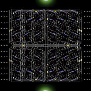 Inf Beau Cel Gard Abstr C     DRC  Triadic Drawing  Peach Line W Color  X    X