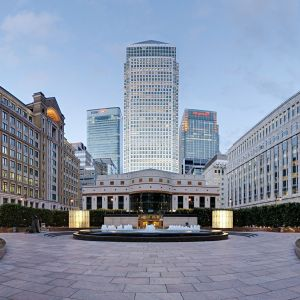 Canary Wharf Cabot Square Wallpaper