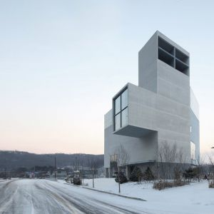 RW Concrete Church By NAMELESS Architecture