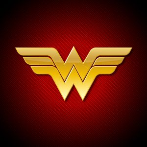 Wonder Woman HD Logo Wallpaper Www Vvallpaper Net Red
