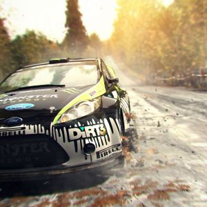 Ford Rally Car In Dirt   Wallpaper Games HD