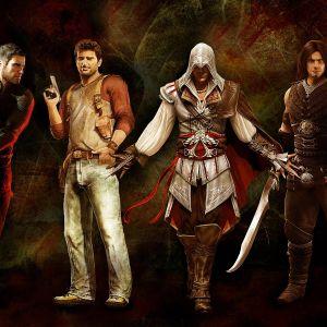 Video Games Heroes Widescreen Wallpaper