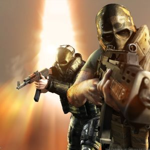 Wallpaper Army Of Two        X