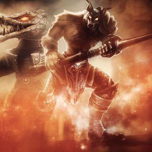 Renekton And Nasus In League Of Legends Wallpaper