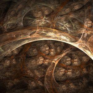 Brown Abstract Wallpaper