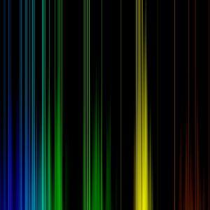 Color Ribbons Abstract Wallpaper