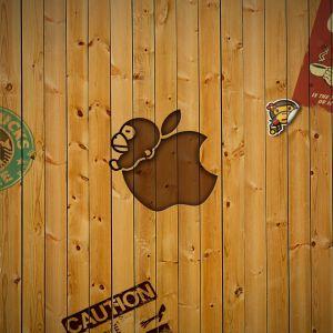 Funny Apple Wallpaper
