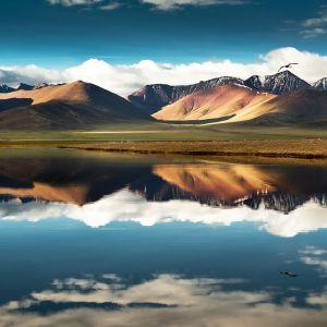 Earth Reflection Wallpaper