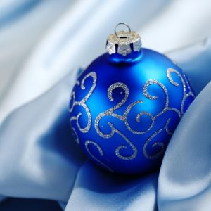 Galaxy Samsung S  Wallpaper Christmas Holidays Blue