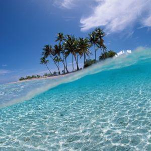My Galaxy S  HD Summer Beach Inside Water Island
